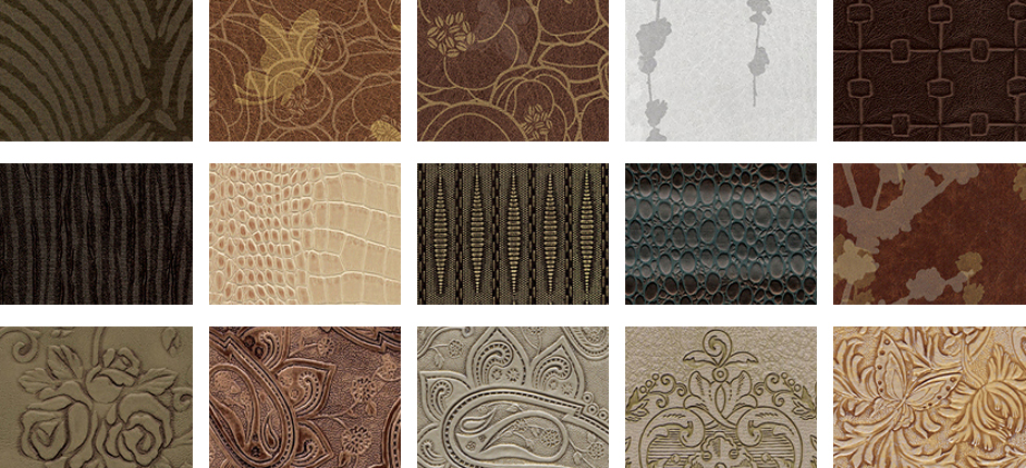 Interior Leather patterns